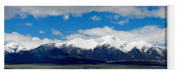 Mt. Princeton Colorado Yoga Mat