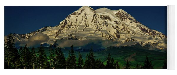 Mt Rainier Yoga Mat