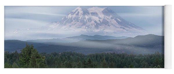 Mt. Rainier Yoga Mat