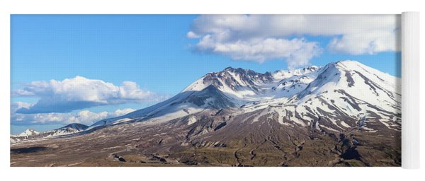 Mt Saint Helens Yoga Mat