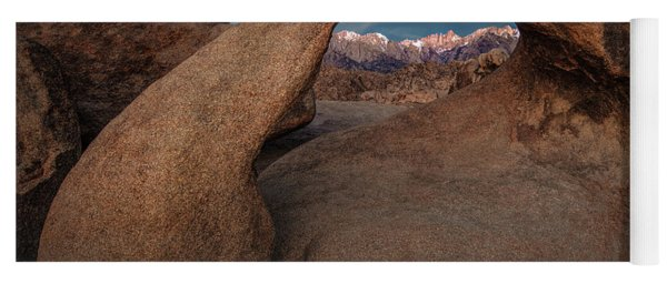 Mt. Whitney Through Mobius Arch Yoga Mat