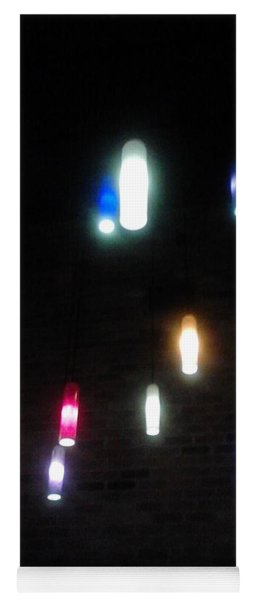 Multi Colored Lights Yoga Mat