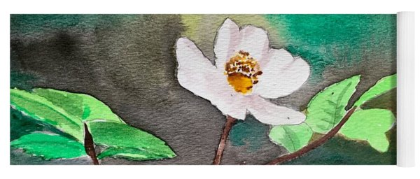 Multiflora Rosa Yoga Mat