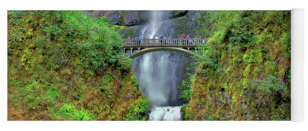 Multnomah Falls 2  Yoga Mat