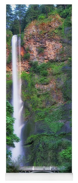 Multnomah Falls Portland Oregon Yoga Mat