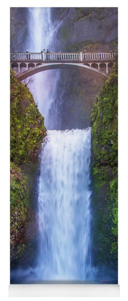Yoga Mat featuring the photograph Multnomah Majesty by Lynn Bauer