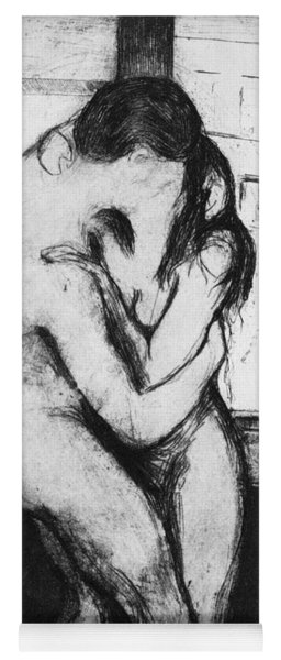 Munch The Kiss, 1895 Yoga Mat