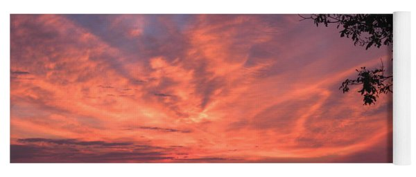 Muscongus Sound Sunrise Yoga Mat