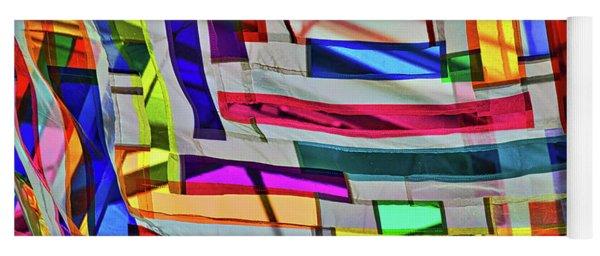 Museum Atrium Art Abstract Yoga Mat