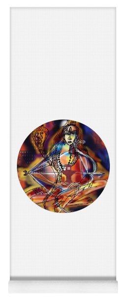 Music Shiva Yoga Mat