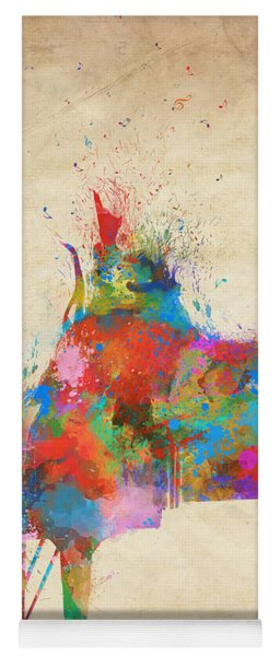 Music Strikes Fire From The Heart Yoga Mat