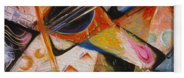 Musical Pastels Yoga Mat