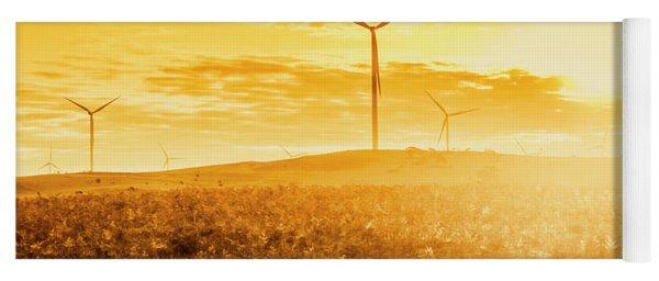 Musselroe Wind Farm Yoga Mat