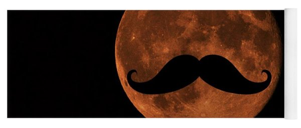 Mustache Moon Yoga Mat