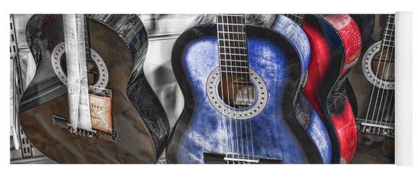 Muted Guitars Yoga Mat