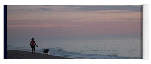 My Best Friend And The Beach Yoga Mat