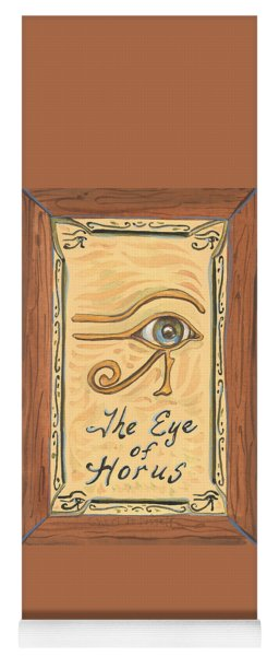 My Eye Of Horus Yoga Mat