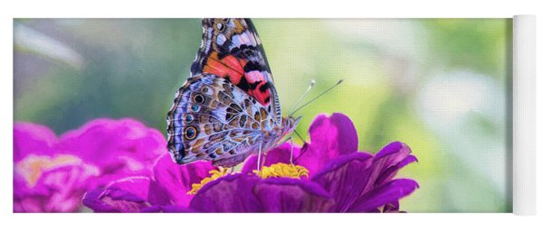 My Fair Painted Lady Yoga Mat