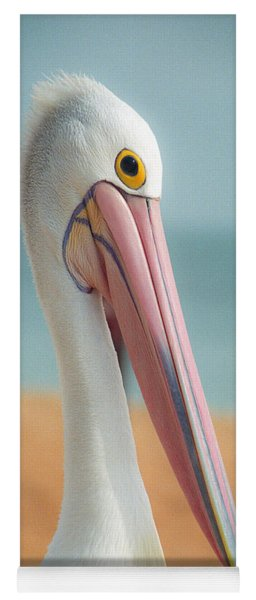 Yoga Mat featuring the photograph My Gentle And Majestic Pelican Friend by T Brian Jones