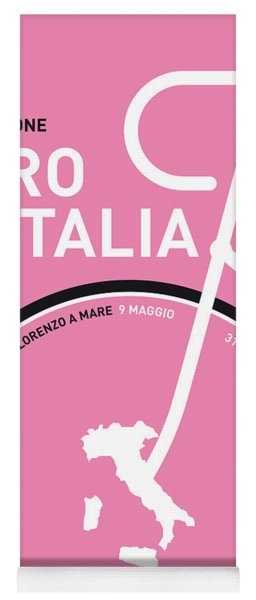 My Giro D'italia Minimal Poster 2015 Yoga Mat
