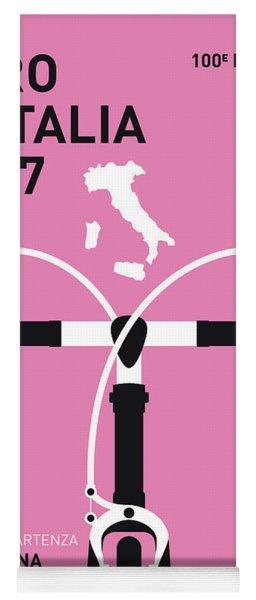 My Giro Ditalia Minimal Poster 2017 Yoga Mat