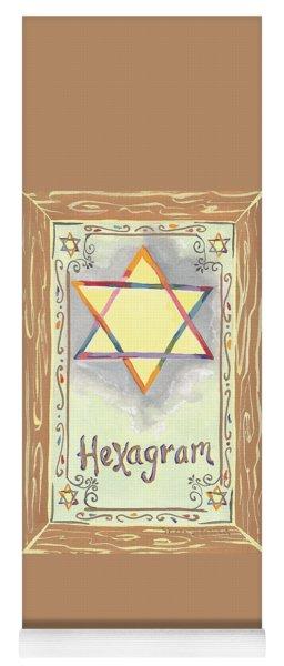 My Hexogram Yoga Mat