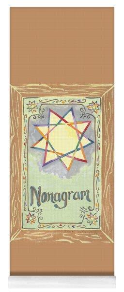 My Nonagram Yoga Mat