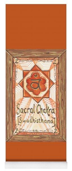 My Sacral Chakra Yoga Mat