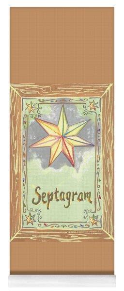 My Septagram Yoga Mat