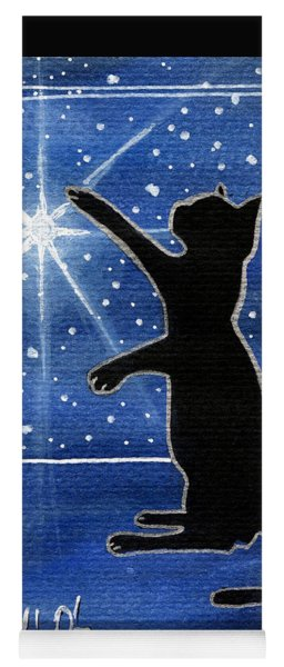 My Shinning Star - Christmas Cat Yoga Mat