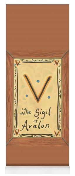 My Sigil Of Avalon Yoga Mat