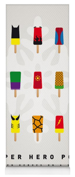 My Superhero Ice Pop - Univers Yoga Mat