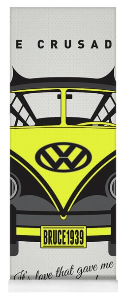 My Superhero-vw-t1-batman Yoga Mat