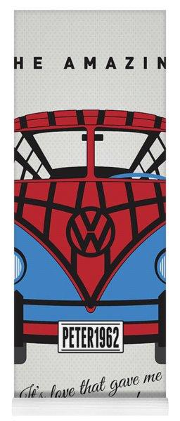 My Superhero-vw-t1-spiderman Yoga Mat