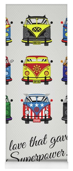 My Superhero-vw-t1-supermanmy Superhero-vw-t1-universe Yoga Mat