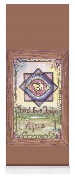 My Third Eye Chakra Yoga Mat