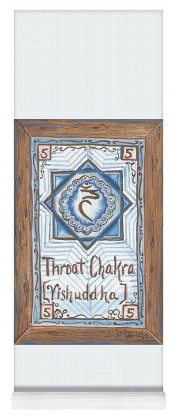 My Throat Chakra Yoga Mat