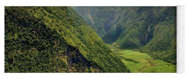 My Waterfall Valley  Yoga Mat