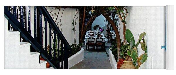 Mykonos Restaurant - Mykonos, Greece Yoga Mat