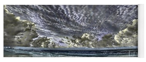 Myrtle Beach Hand Tinted Panorama Sunrise Yoga Mat