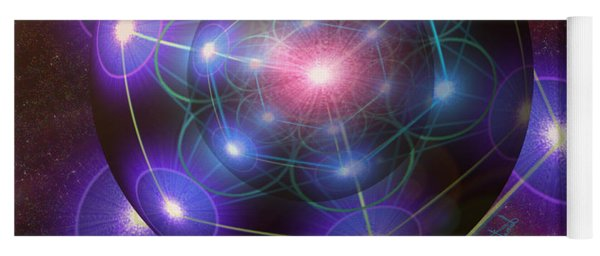Mystical Metatron Yoga Mat