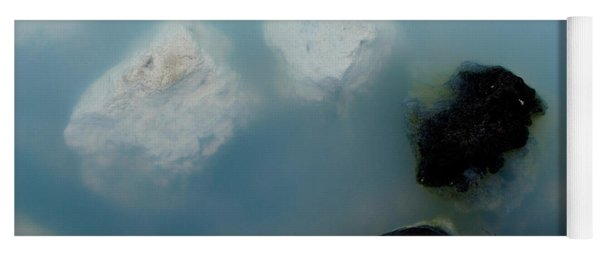 Yoga Mat featuring the photograph Mystical Island - Healing Waters by Matthew Wolf