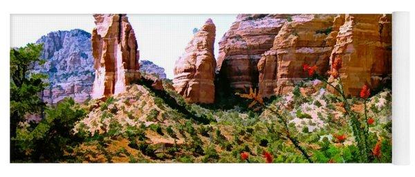 Mystical Red Rocks - Sedona, Arizona Yoga Mat