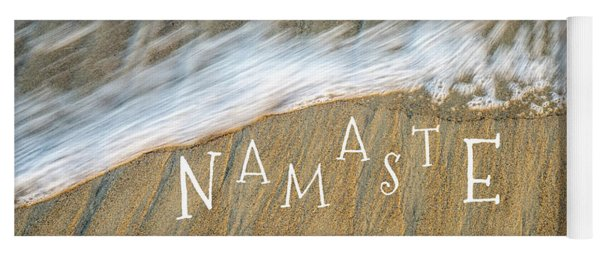 Namaste On The Beach Yoga Mat