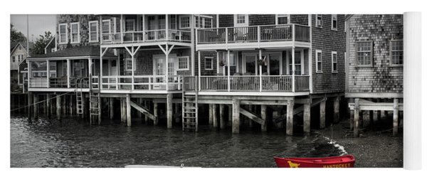 Nantucket In Bw Series 6139 Yoga Mat