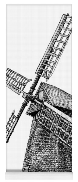 Nantucket Windmill Number One Yoga Mat