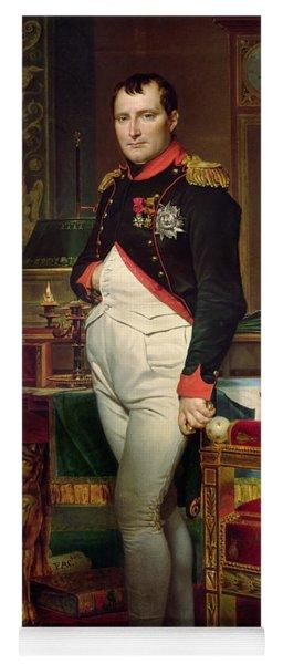 Napoleon Bonaparte In His Study At The Tuileries, 1812 Yoga Mat