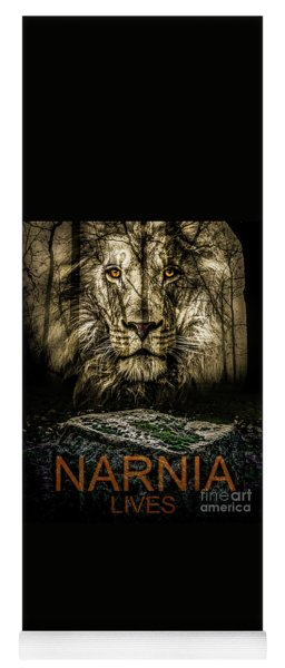 Yoga Mat featuring the photograph Narnia Lives by Michael Arend