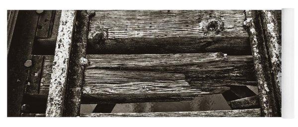 Narrow Gauge Tracks #photography #art #trains Yoga Mat