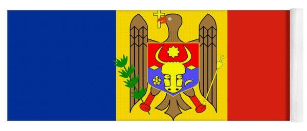 National Flag Of Moldova Yoga Mat